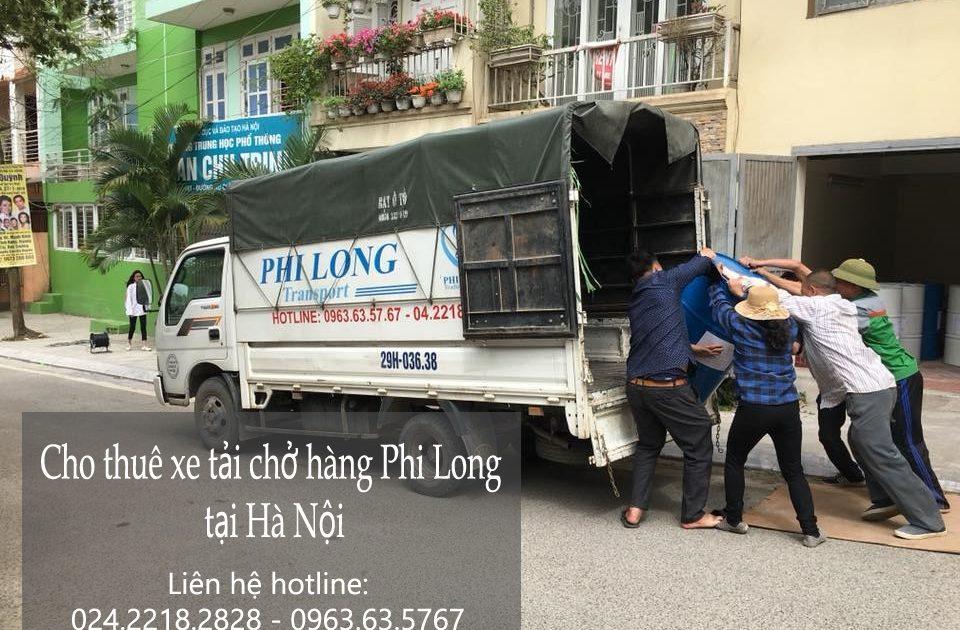 Dịch vụ cho thuê xe tải vận chuyển tại phố Vũ Phạm Hàm