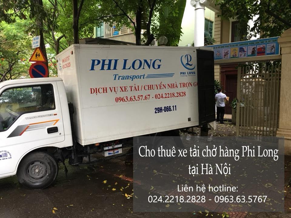 Dịch vụ cho thuê xe tải tại đường Giáp Bát