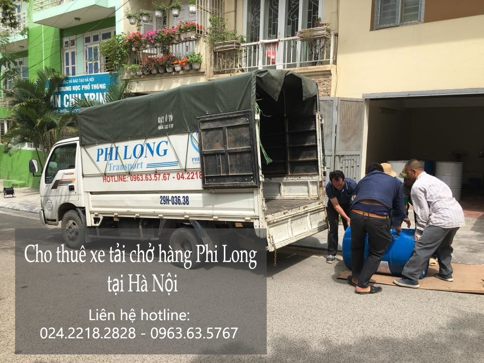 Dịch vụ cho thuê xe tải Phi Long tại phố Ô Chợ Dừa