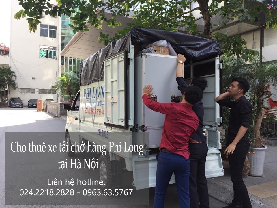 Dịch vụ cho thuê xe tải Phi Long tại phố Dương Khuê