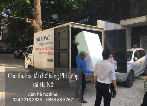 Xe tải chở hàng thuê uy tín tại phố Trần Kim Chung
