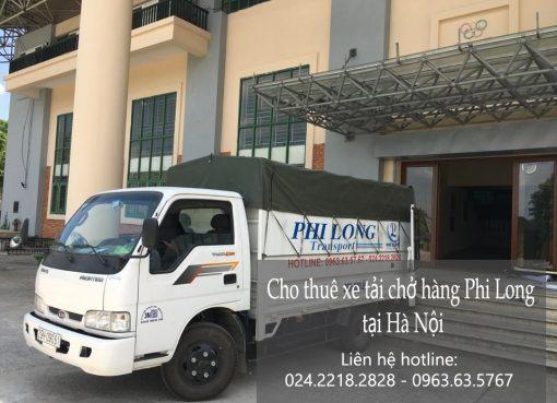 Cho thuê xe tải tại phố Hàng Lược