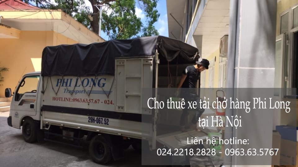 Dịch vụ cho thuê xe tải Phi Long tại phố Đồng Bông