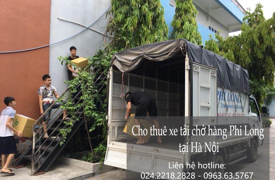 Thuê xe chuyển đồ tại phố Tô Tiến Thành