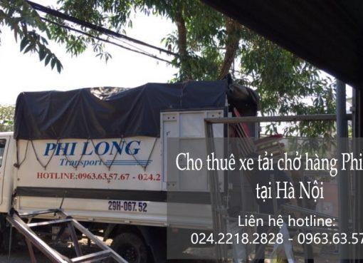 Cho thuê xe tải chở hàng tại phố Hàng Chiếu