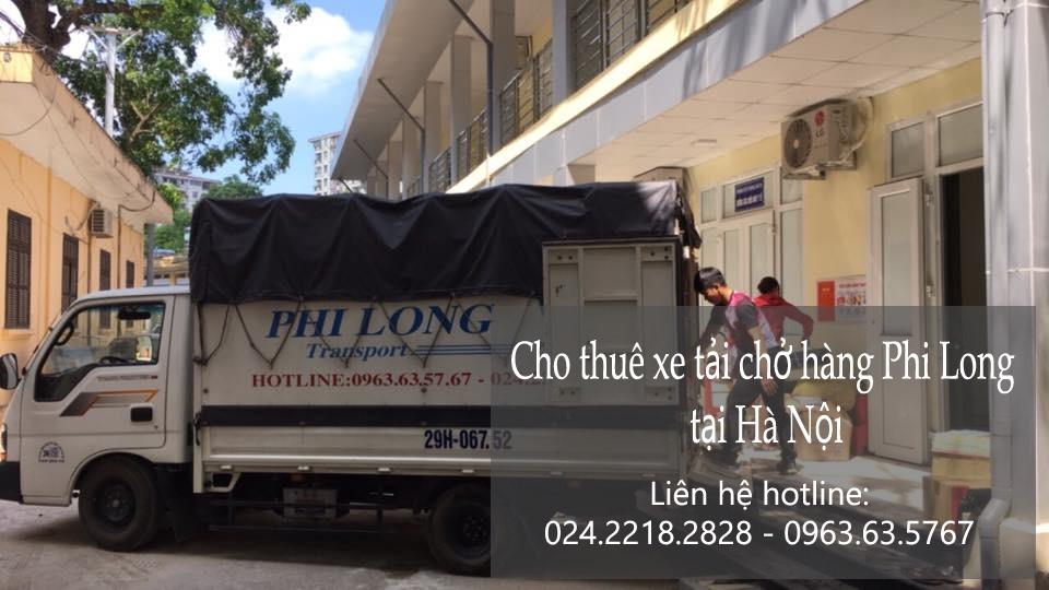 Dịch vụ thuê xe tải giá rẻ tại phố Nghĩa Dũng