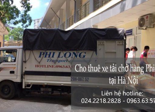 Thuê xe chuyển nhà giá rẻ tại phố Yên Ninh