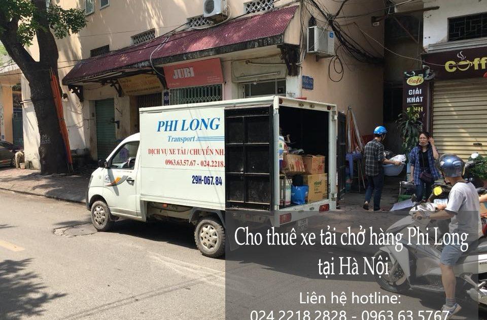 Dịch vụ cho thuê xe tải tại phố Trần Cao Vân