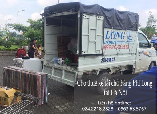 Dịch vụ cho thuê xe tải tại phố Nguyễn Siêu