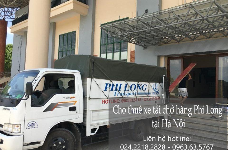 Dịch vụ cho thuê xe tải tại phố Nguyễn Công Trứ