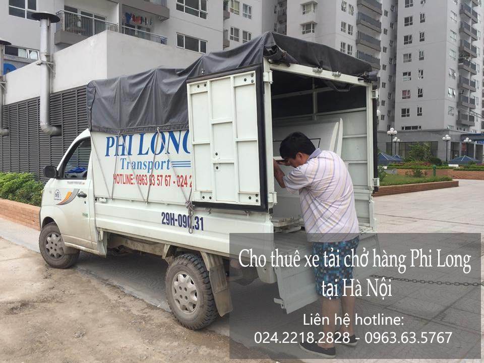 Dịch vụ cho thuê xe tải giá rẻ tại đường Đản Di