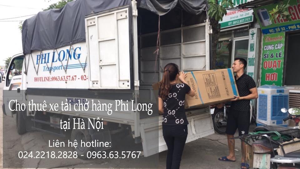 Cho thuê xe tải tại phố Hàng Vôi