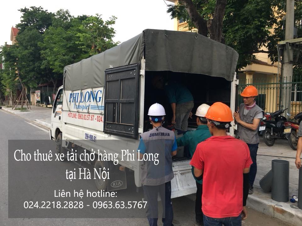 Dịch vụ cho thuê xe tải tại phố Gàm Cầu