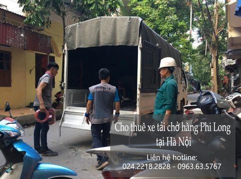 Dịch vụ cho thuê xe tải tại phố Nguyễn Cơ Thạch