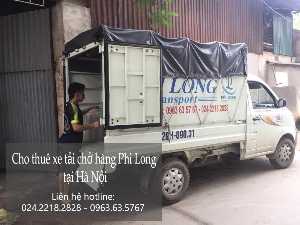 Dịch vụ cho thuê xe tải giá rẻ tại phố Nguyễn Chí Thanh