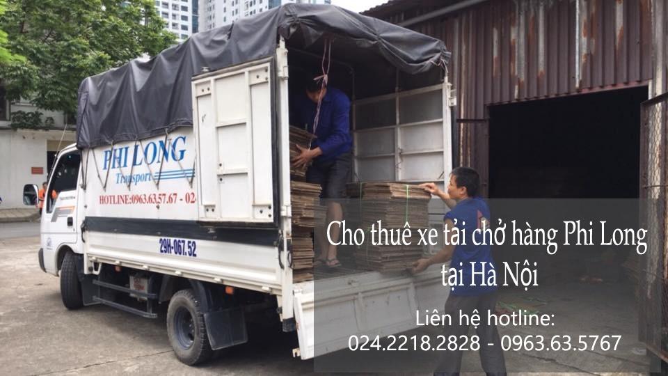 Dịch vụ cho thuê xe tải tại phố Ao Sen