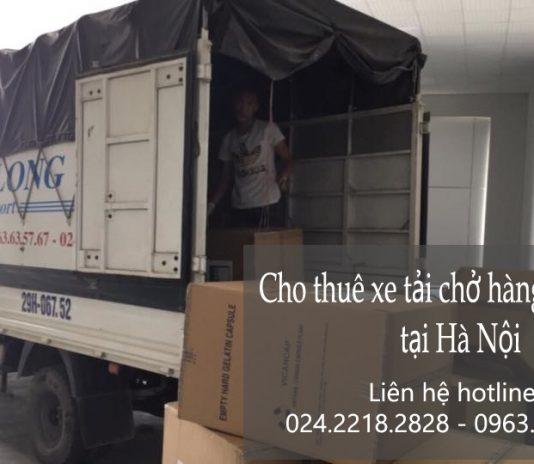 Dịch vụ cho thuê xe tải tại phố Phan Văn Đáng