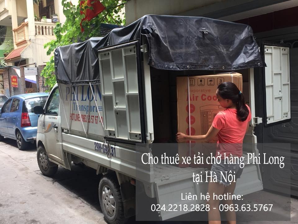 Dịch vụ cho thuê xe tải tại phố Thiền Quang