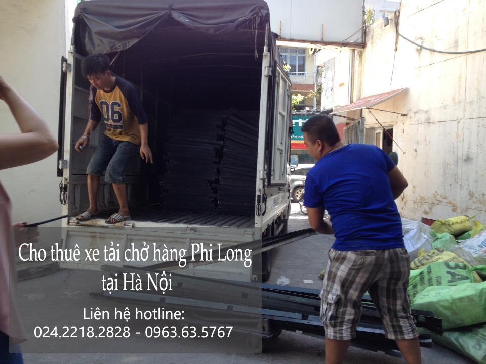 Dịch vụ cho thuê xe tải tại phố Trấn Vũ