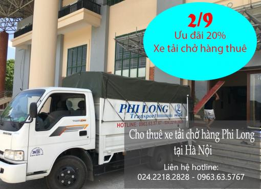 Ưu đãi dịch vụ cho thuê xe tải ngày Quốc Khánh 2-9