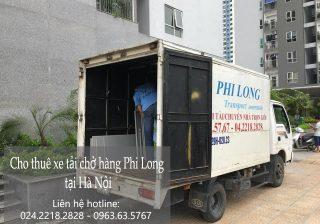 Dịch vụ cho thuê xe tải tại phố Bạch Thái Bưởi