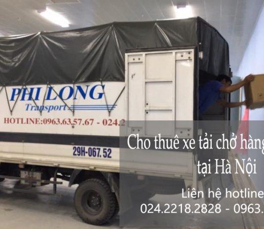 Dịch vụ cho thuê xe tải tại phố Lương Văn Can