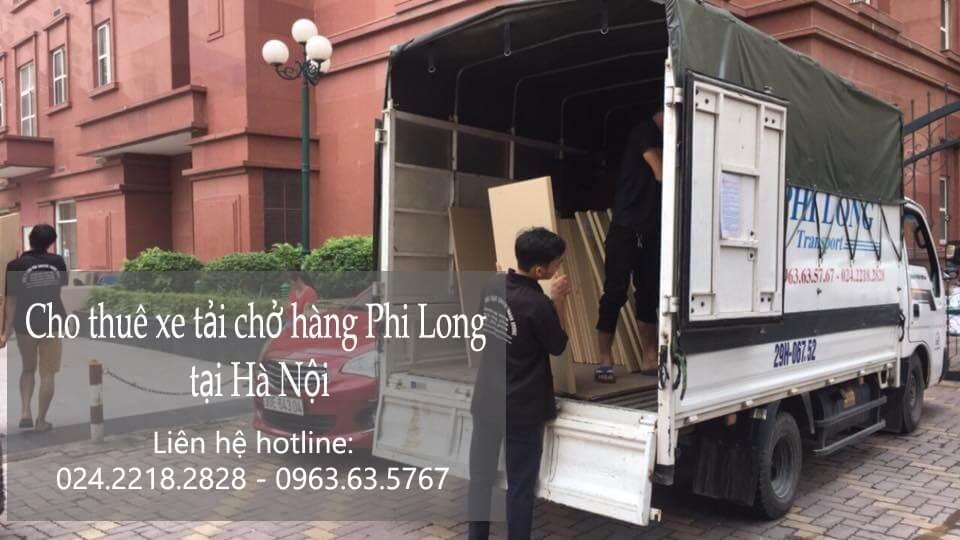 Dịch vụ cho thuê xe tải 1 tấn tại phố Hoàng Cầu