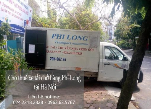 Dịch vụ cho thuê xe tải tại phố Kim Ngưu