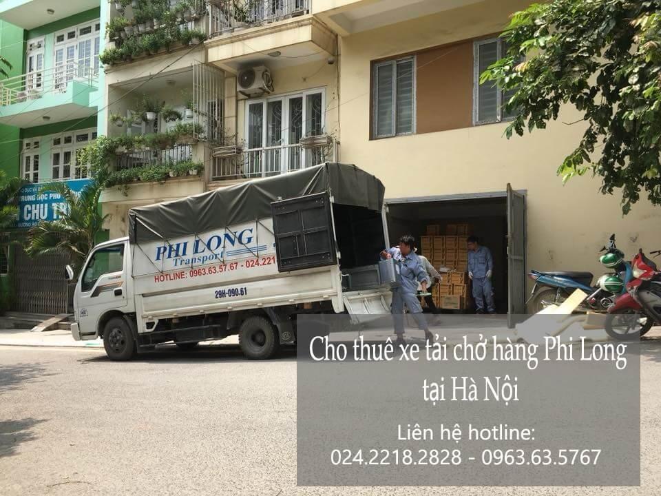 Dịch vụ cho thuê xe tải tại phố Hàng Dầu