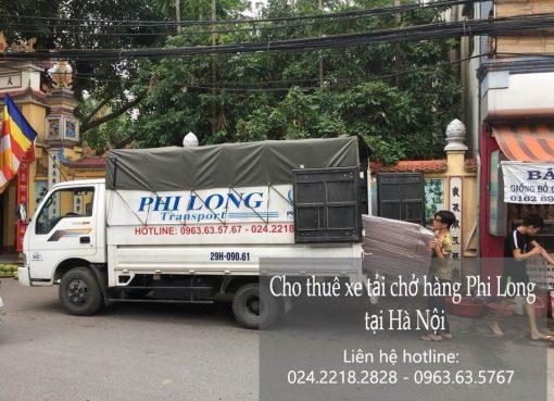 Dịch vụ cho thuê xe tải tại phố Hàng Mành