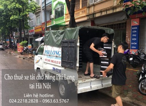 Dịch vụ cho thuê xe tải tại đường Quang Tiến