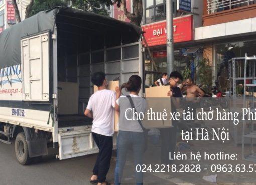Dịch vụ cho thuê xe tải tại phố Trung Kính