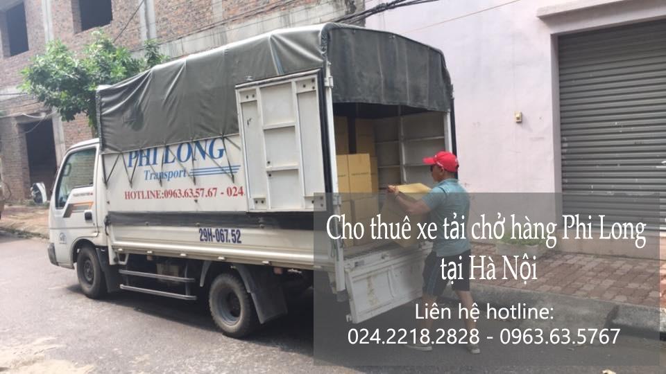 Dịch vụ cho thuê xe tải giá rẻ tại đường Duy Tân 2019