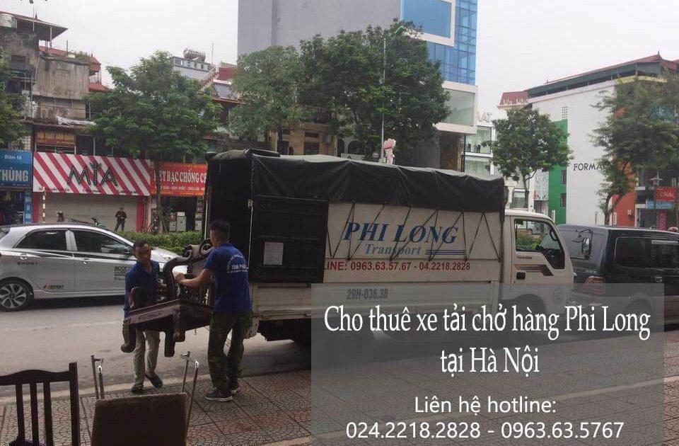 Dịch vụ cho thuê xe tải tại phố Đinh Công Tráng