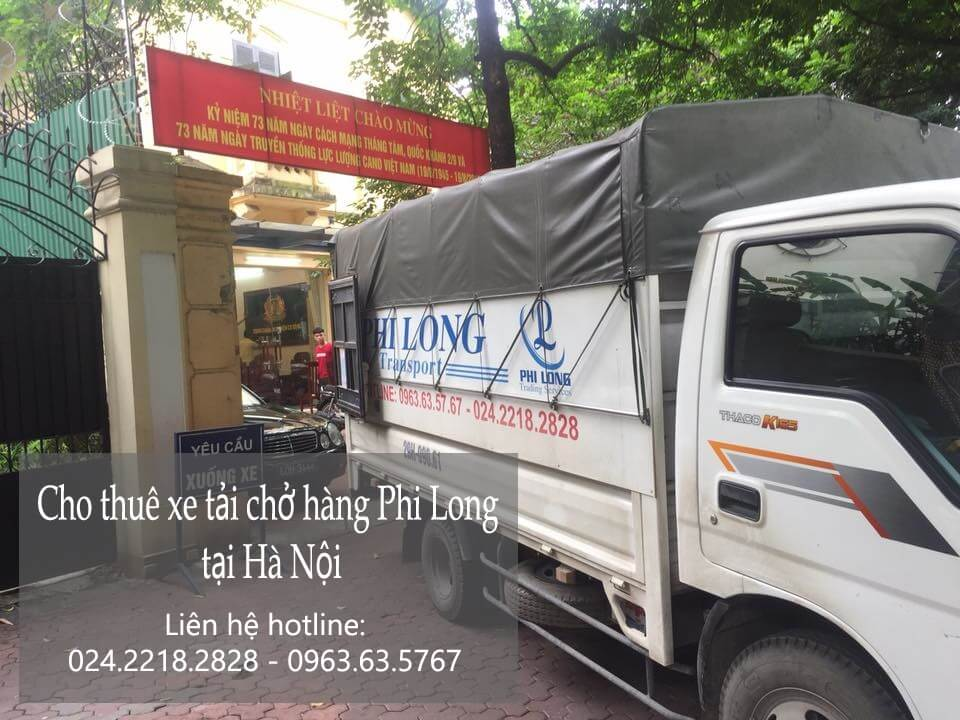 Dịch vụ cho thuê xe tải giá rẻ tại phố Hoa Bằng