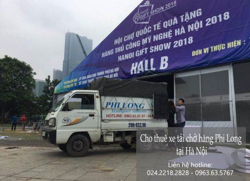 Dịch vụ cho thuê xe tải tại phố Thể Giao