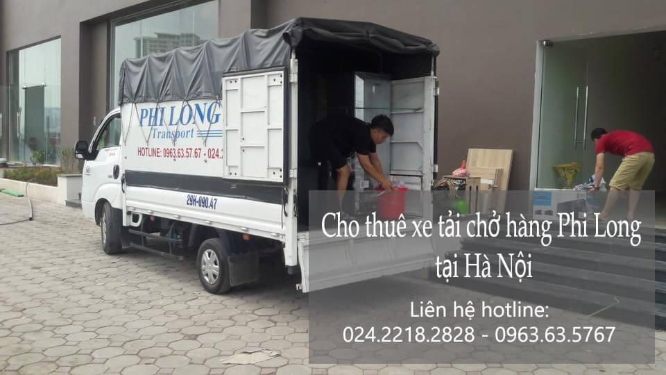 Dịch vụ cho thuê xe tải tại phố Chân Cầm