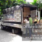 Dịch vụ cho thuê xe tải tại phường Lĩnh Nam