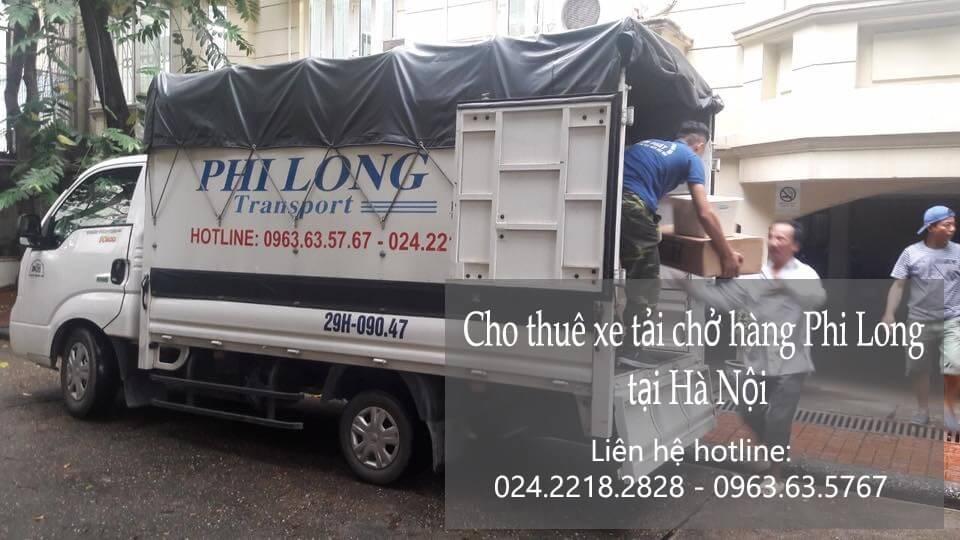 Dịch vụ cho thuê xe tải tại phố Hoàng Ngân