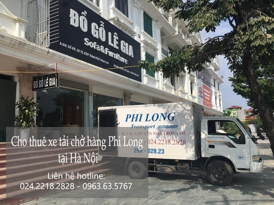 Dịch vụ cho thuê xe tải tại phố Hoa Lâm