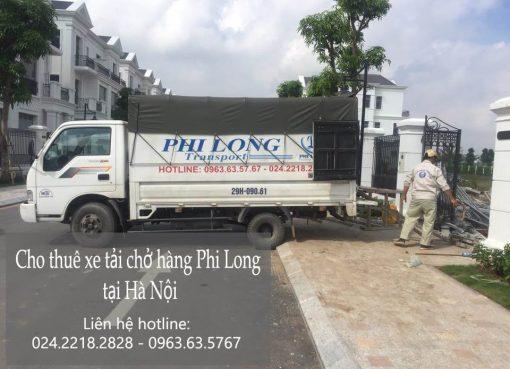 Dịch vụ cho thuê xe tải tại phố Hoàng Cầu