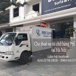 Dịch vụ cho thuê xe tải tại phố Lê Hồng Phong