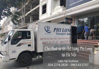 Dịch vụ cho thuê xe tải giá rẻ tại phố Liễu Giai