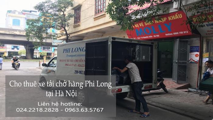 Dịch vụ cho thuê xe tải tại phố Chợ Gạo
