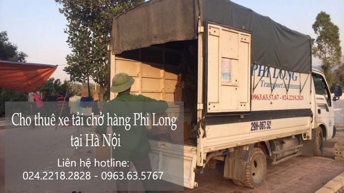 Dịch vụ cho thuê xe tải giá rẻ tại phố Giang Biên