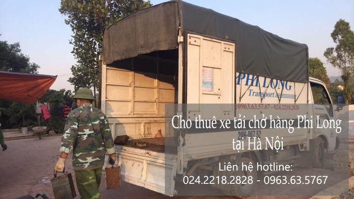 Dịch vụ cho thuê xe tải tại phố Chả Cá