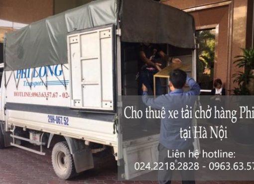 Dịch vụ cho thuê xe tải phố Đội Nhân
