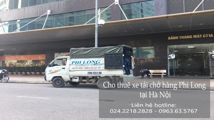 Dịch vụ cho thuê xe tải tại phố Hồng Mai