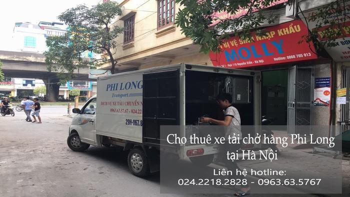 Dịch vụ cho thuê xe tải tại phố Dã Tượng