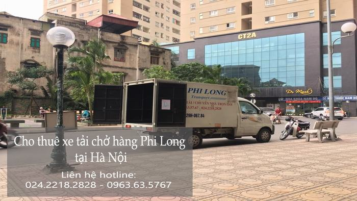 Dịch vụ cho thuê xe tải tại phố Ấu Triệu